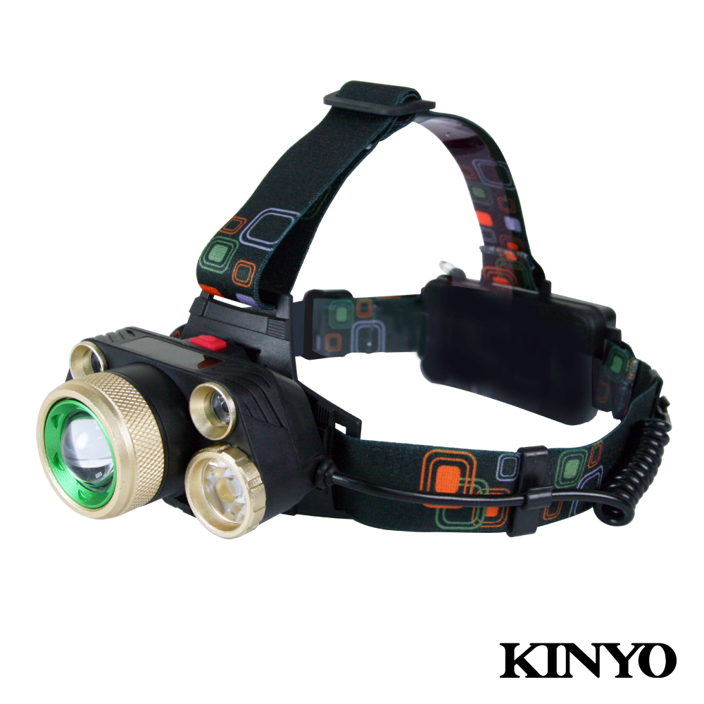 KINYO超亮LED五燈頭燈LED728