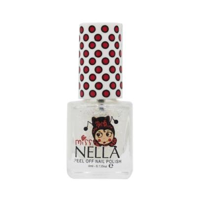 英國 Miss Nella 可撕式水性指甲油 兒童孕婦專用彩妝 #亮片雪花