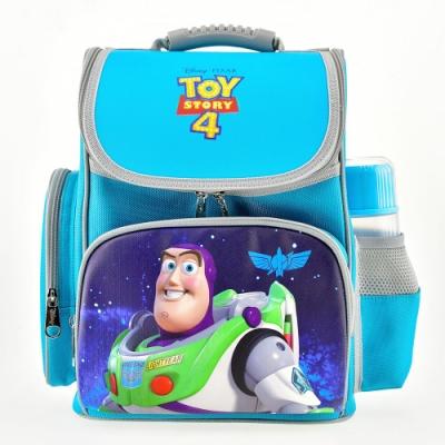 DF-童趣館-正版迪士尼卡通人物附哨子胸扣護脊透氣書包-共4款