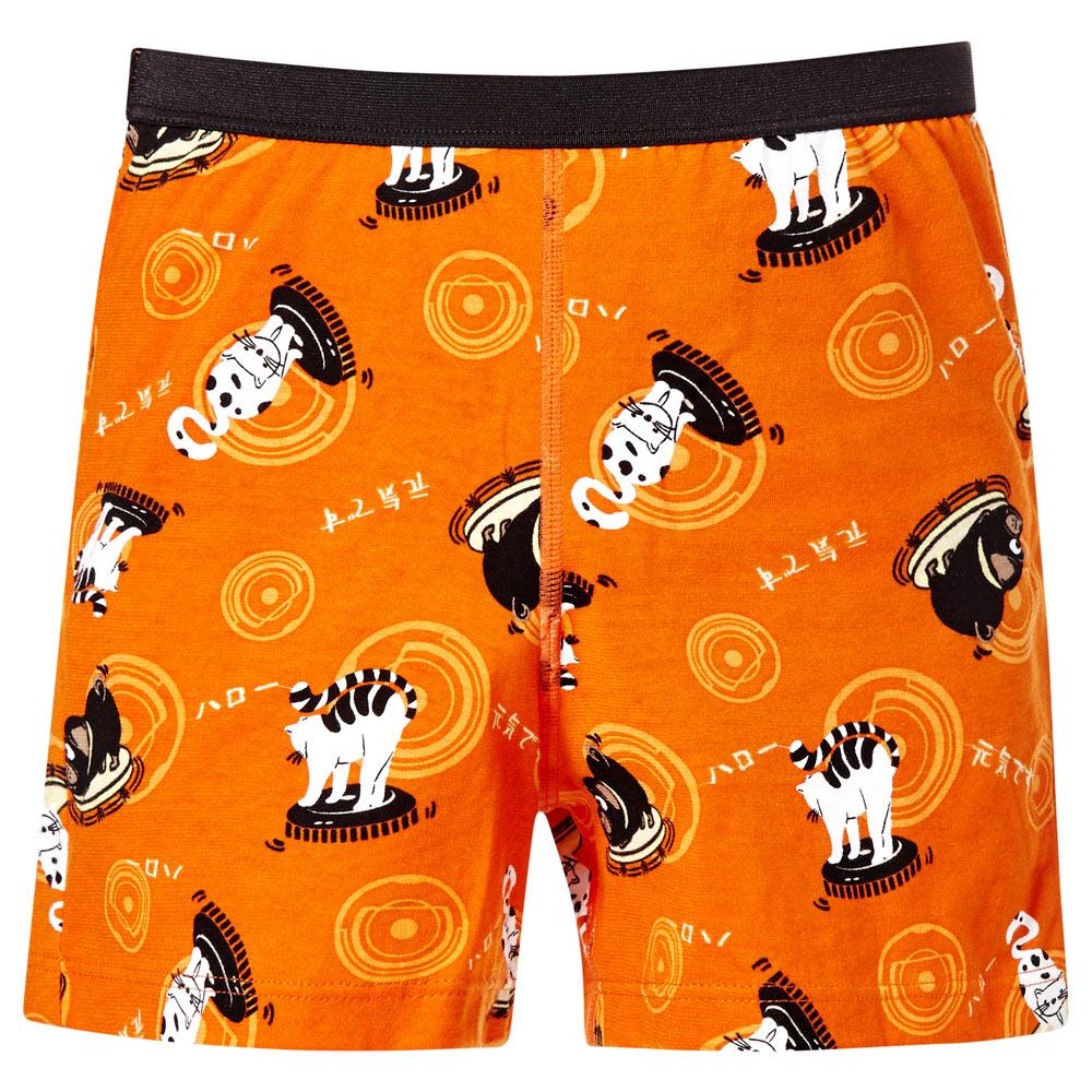 DADADO-哈囉 110-130 男童內褲(橘)品牌推薦
