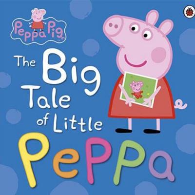 The Big Tale Of Little Peppa 佩佩豬小時候平裝本故事書
