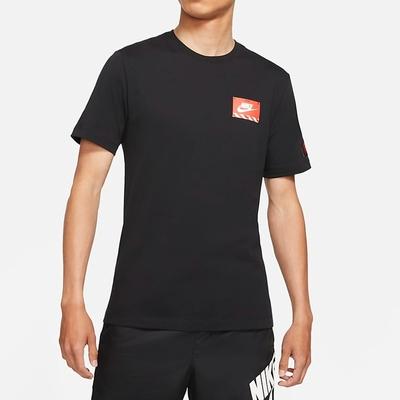 Nike NSW TEE MECH AIR FIGURE機器人 男短袖上衣-黑-DJ1398010