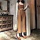 DABI韓國復古風高腰針織單品連身褲