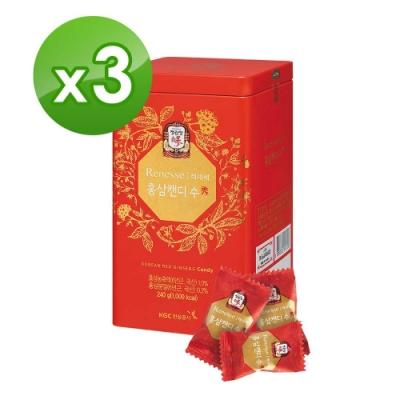 《正官庄》高麗蔘糖240g x3盒