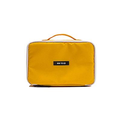 Antenna Shop 全家旅遊收納萬用手提包-閃耀黃