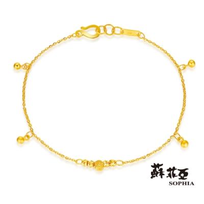 蘇菲亞SOPHIA - G LOVER系列光漾心弦黃金手鍊