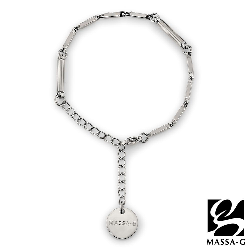 MASSA-G【Simple純粹】磁石能量白鋼手鍊