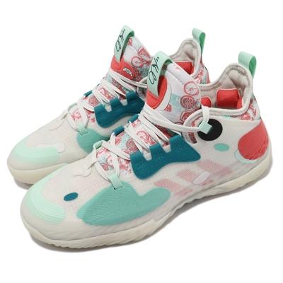 adidas 籃球鞋 Harden Vol  5 運動 男鞋 哈登 避震 包覆 Boost避震中底 灰 彩 FZ4405