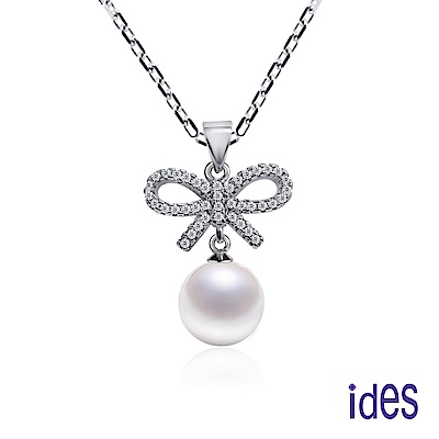 ides愛蒂思 限量日本設計款珍珠母貝項鍊/情繫妳10mm