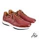 A.S.O 機能休閒 萬步健康鞋 綁帶款休閒鞋-暗紅 product thumbnail 2