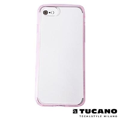 TUCANO DUO 雙料美背PC+防撞軟邊保護套 iPhone7/8 Plus-粉