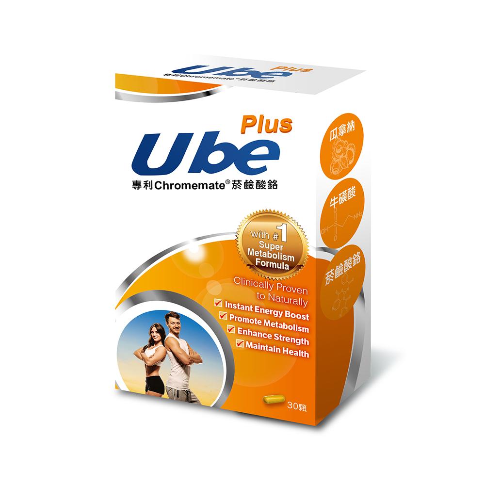 【即期良品】悠活原力 UBe Plus優必加倍塑膠囊(30粒入)