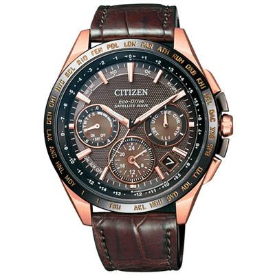 CITIZEN 星辰 GPS 宇宙航道衛星對時錶(CC9016-01E)-45mm