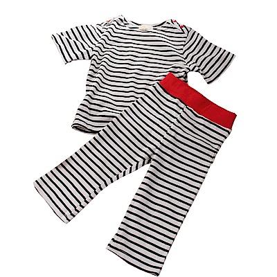 條紋休閒套裝 k50296 魔法Baby