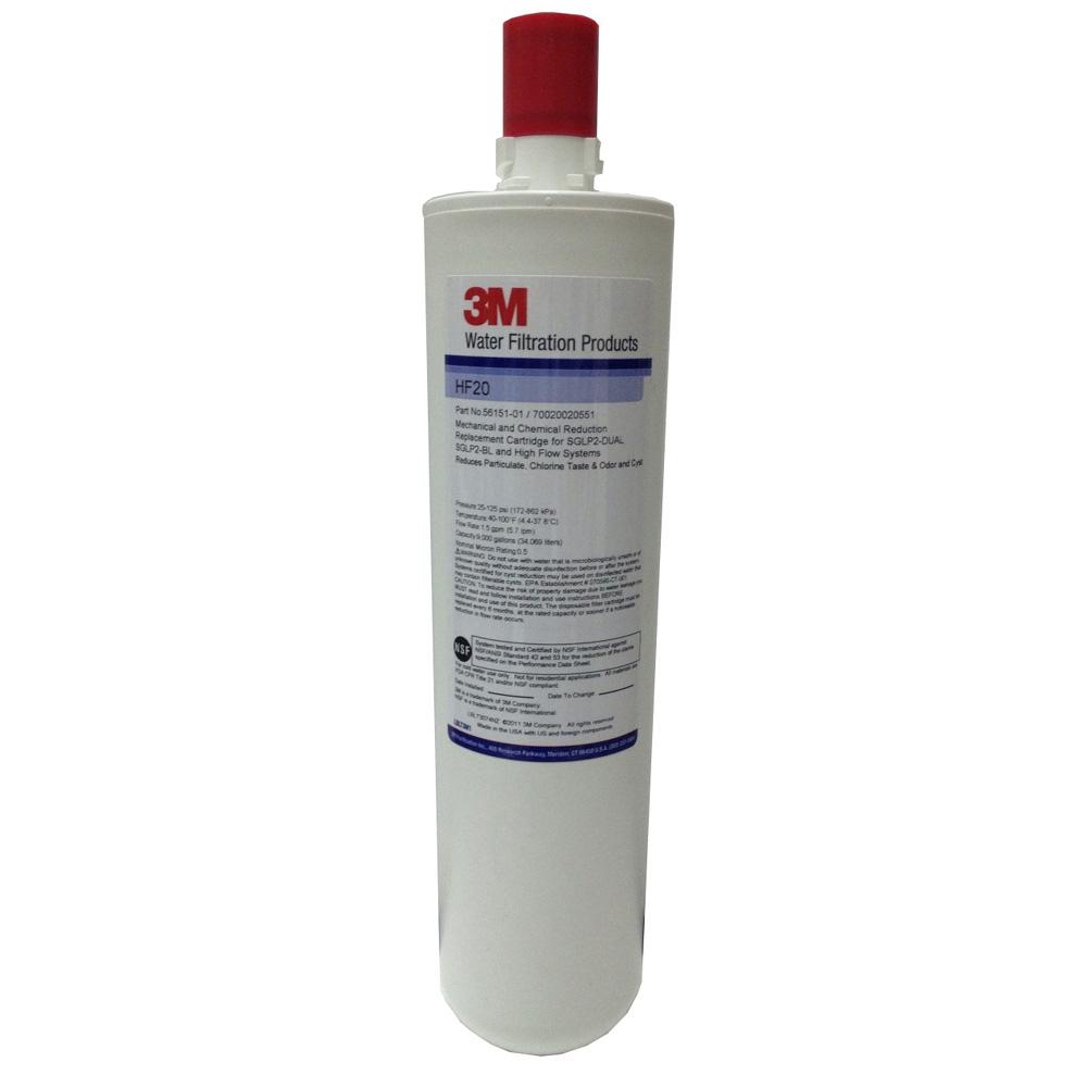 3M高流量長效型除菌淨水濾芯HF20
