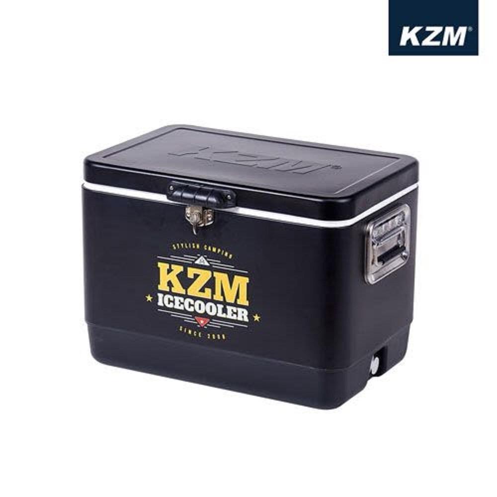 KAZMI K6T3A015 黑爵士不鏽鋼行動冰箱 51L K6T3A015