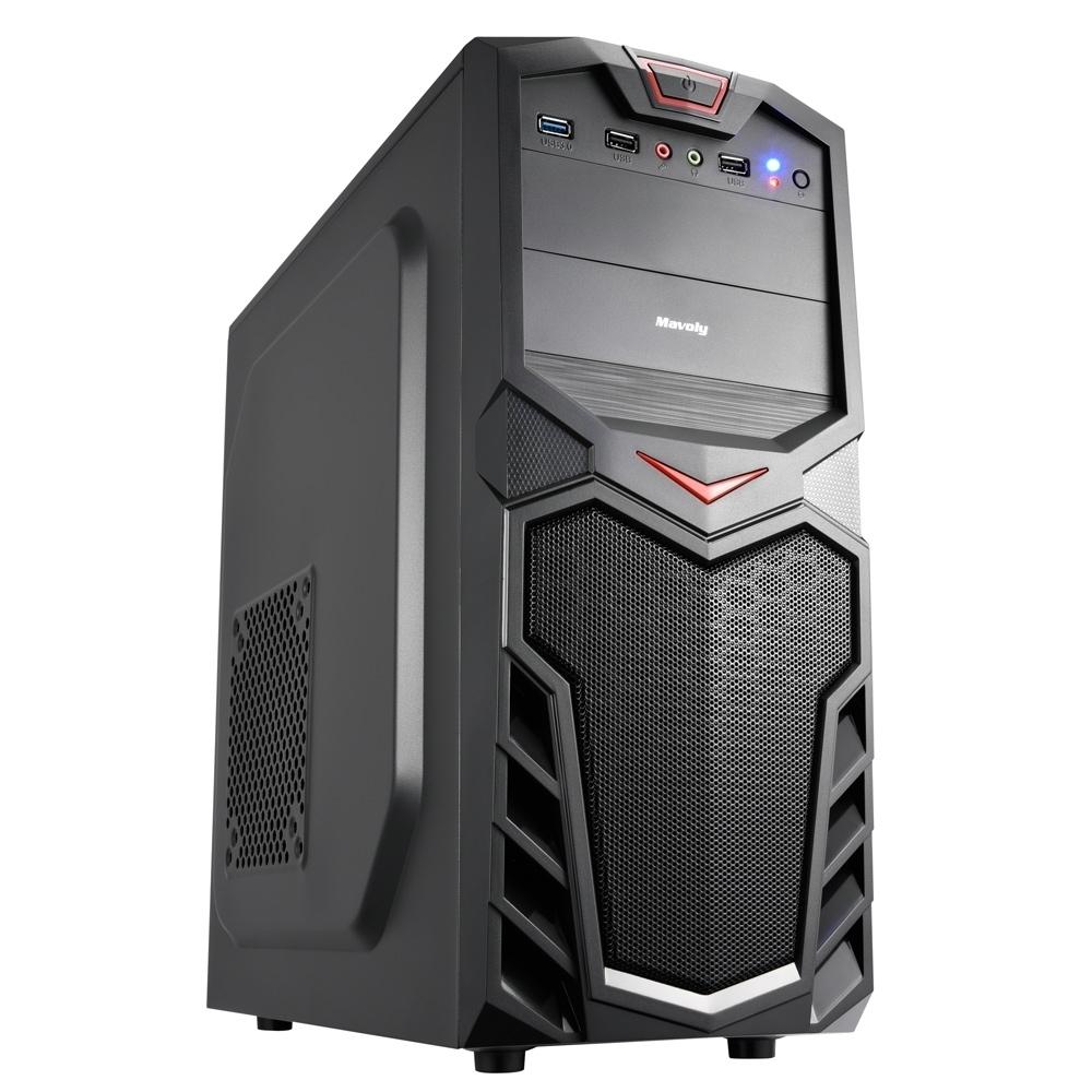 技嘉H310平台[天地步兵]i7八核效能電腦