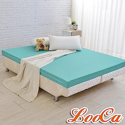 (雅虎限定)LooCa 法國防蹣防蚊高釋壓記憶床墊12cm床墊-加大6尺