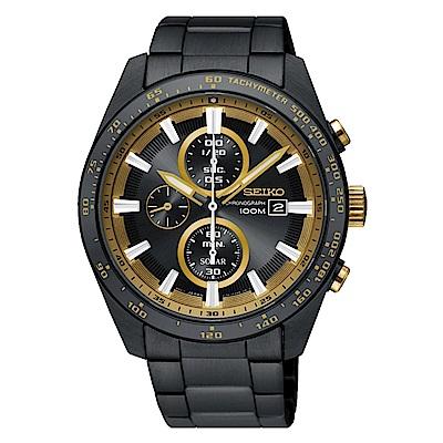 SEIKO 精工 CRITERIA登躍極致太陽能運動腕錶/SSC659P1/V176-0A