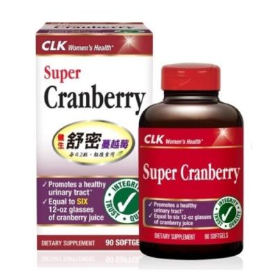 CLK健生 舒密蔓越莓膠囊 90粒 (使用Cran-Max,美國原裝進口)