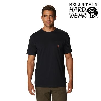 【美國 Mountain Hardwear】Absolute Zero Short Sleeve Pocket T 有機棉短袖口袋T 男款 黑色 #1925051