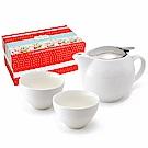 ZERO JAPAN 典藏陶瓷一壺兩杯超值禮盒組(白色)