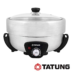 TATUNG大同 5公升不鏽鋼火烤兩用鍋(TSB-5015S)