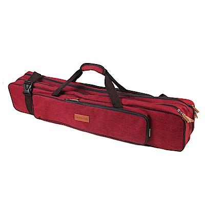 NOMADE 加厚雙層牛津布營柱收納袋 營柱袋 裝備袋 工具袋箱(紅)
