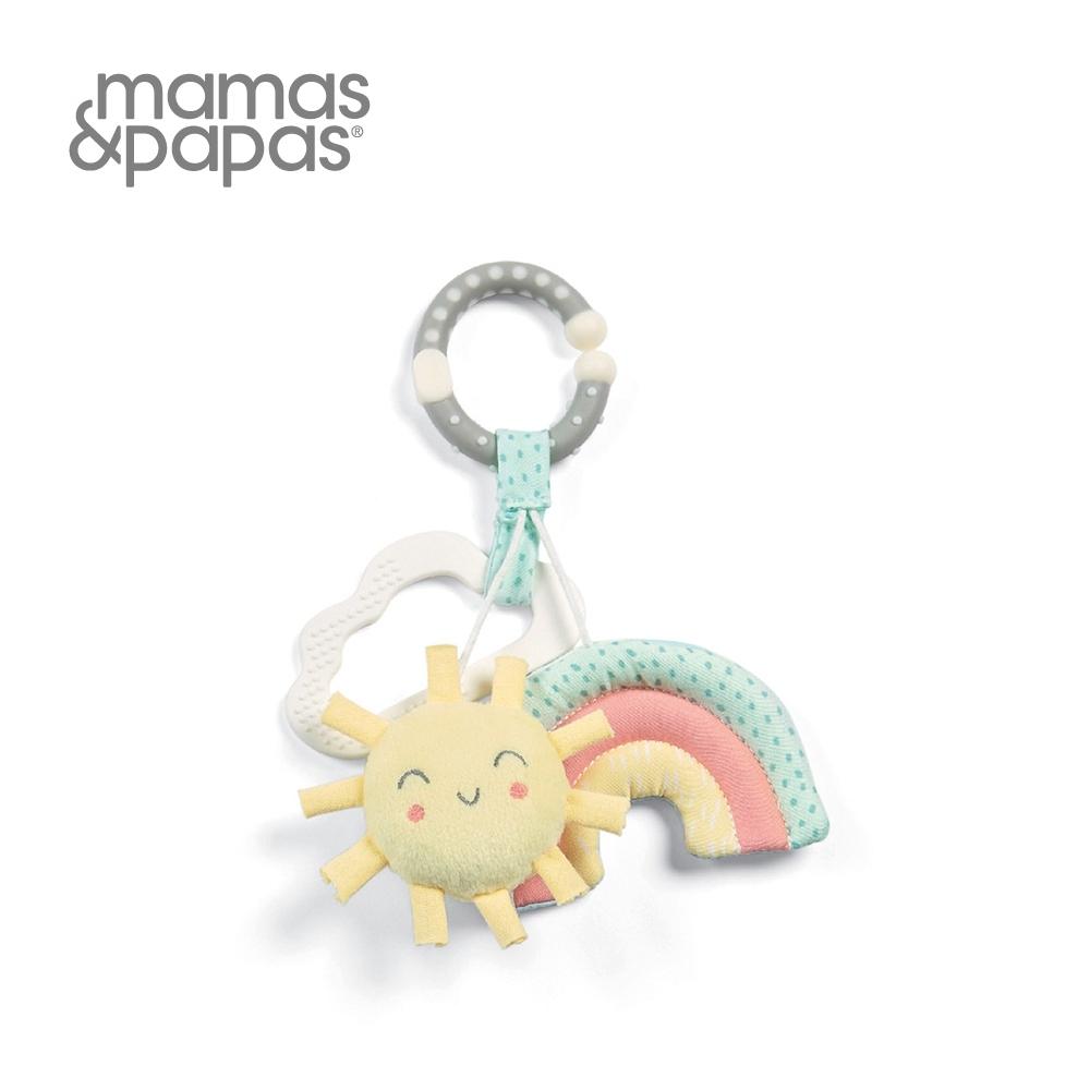 【Mamas & Papas】彩虹年輪(吊飾玩偶)