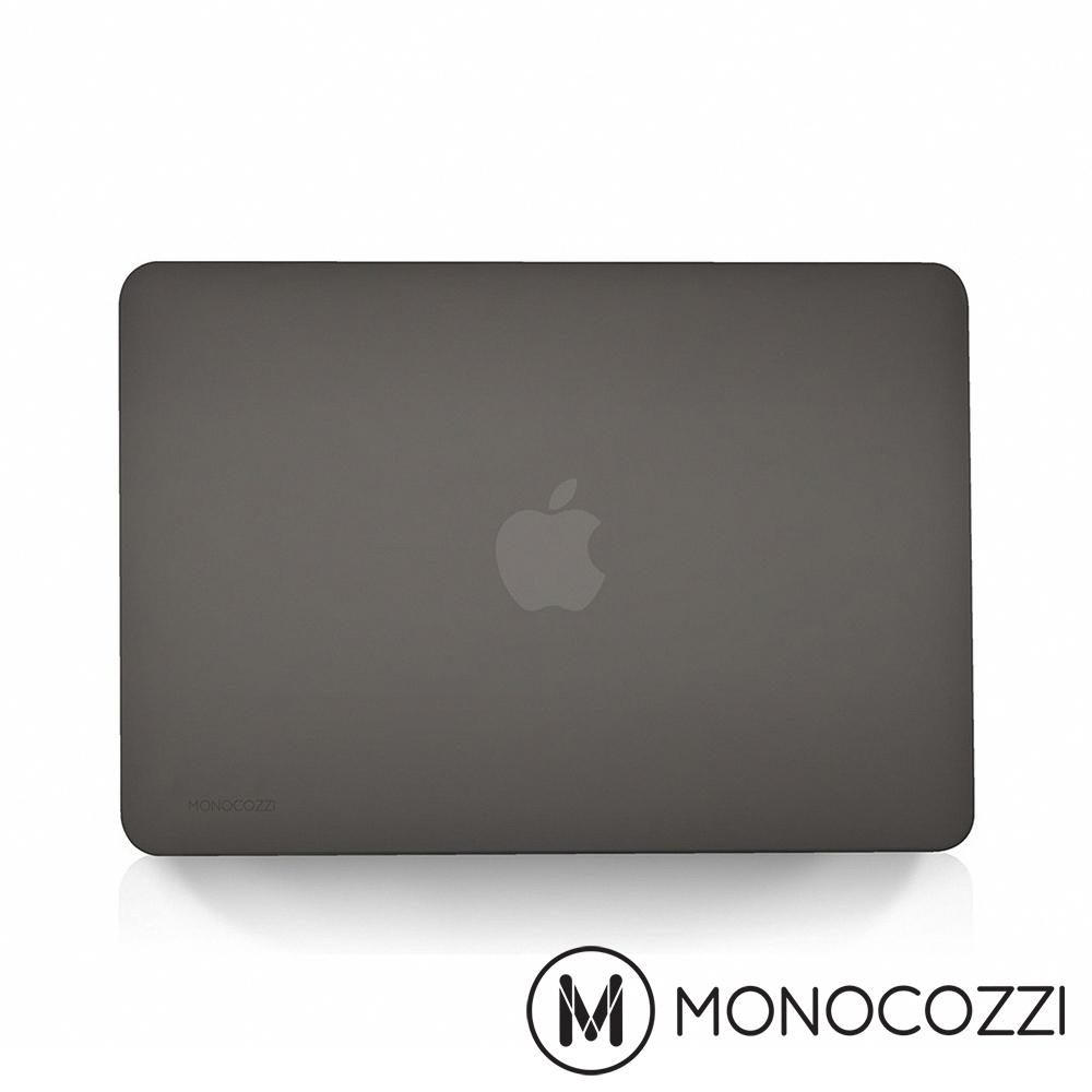 "MONOCOZZI 半透明保護殼 MacBook Air 13"" Retina-霧面黑"