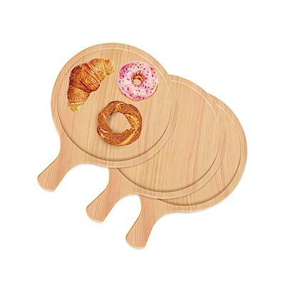 WASHAMl-松木食物盤-披薩盤11吋3入組
