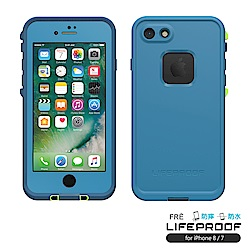 LIFEPROOF iPhone8/7專用 防水防雪防震防泥超強保護殼-FRE(藍)