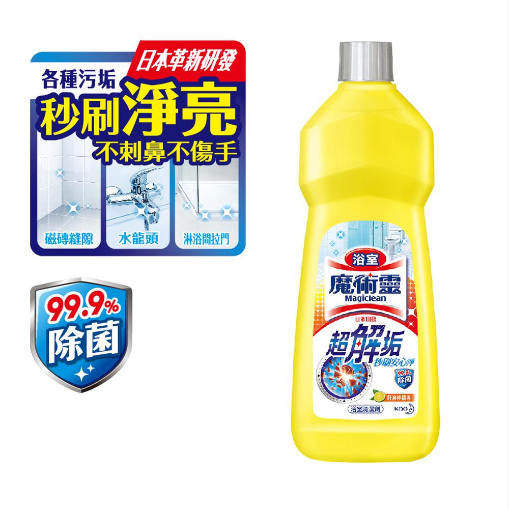 魔術靈 浴室清潔劑 舒適檸檬 經濟瓶 (500ml)