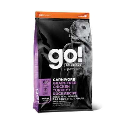 Go! 雞肉鮭魚 85% 高肉量 老犬配方3.5磅