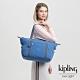 Kipling 經典海洋藍手提側背包-ART product thumbnail 1
