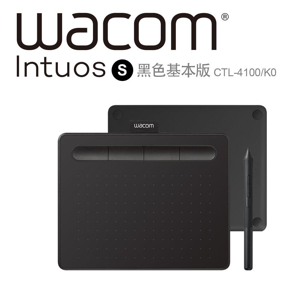 (福利品)Wacom Intuos Basic 繪圖板 (入門版)(黑)