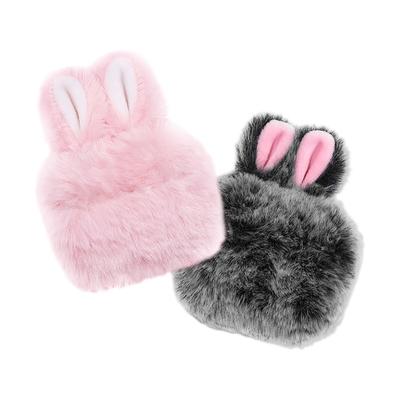 AirPodsPro 保護套 絨毛兔耳 藍牙耳機保護套