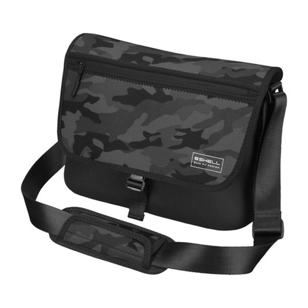 HAKUBA PLUSSHELL SLIMFIT02(L)側背包(迷彩黑/HA205855