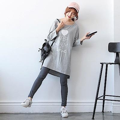 HELLO KITTY口袋刺繡造型彈性窄管褲.3色-OB大尺碼
