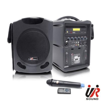 UR SOUND 單頻DVD/SD/USB無線手提擴音機 PU300D