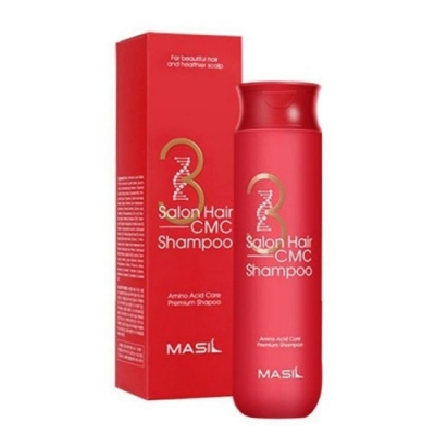 Masil 3次方沙龍CMC胺基酸修復洗髮精 300ml-快