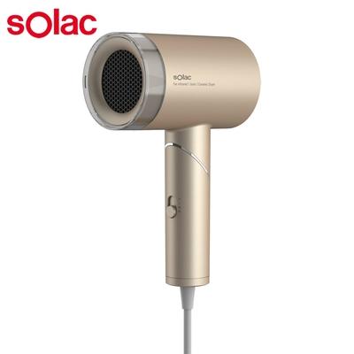 Solac 負離子生物陶瓷吹風機HCL-501(金)