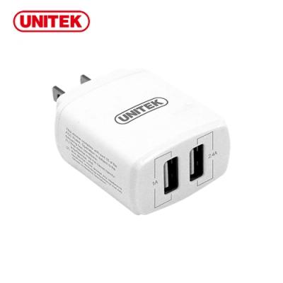 UNITEK 17W2埠旅行充電器