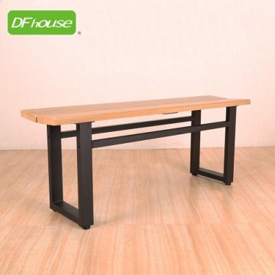 DFhouse英式工業風-雙人餐椅 108*28*43