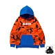 XLARGE CAMO PULLOVER HOODED SWEAT連帽上衣-橘 product thumbnail 1