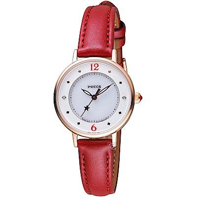 WICCA 星願系列 聖誕節限定腕錶(KP3-465-12)