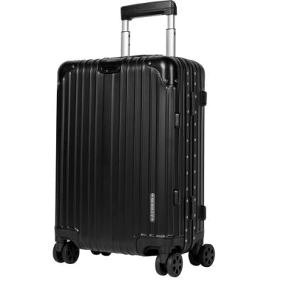 BENTLEY賓利 20吋全鋁鎂合金拉桿行李箱-黑