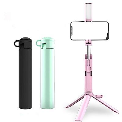 ANTIAN 新款馬卡龍折疊式三腳架 支援 自拍棒相機