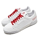 adidas 休閒鞋 Continental 80 復古 男鞋 愛迪達 三葉草 皮革鞋面 穿搭 白 紅 FU9787 product thumbnail 1