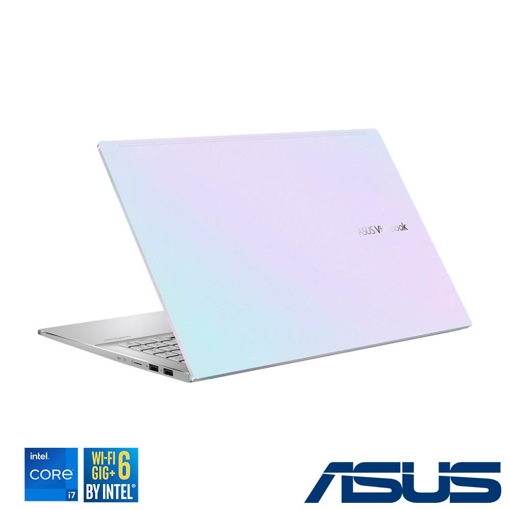 ASUS S433EQ 14吋筆電 (i7-1165G7/MX350/16G/512GB SSD/VivoBook S14/幻彩白)